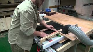 How to Make a Picture Frame from Bloodwood