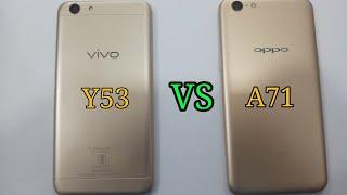 OPPO A71 VS VIVO Y53 speed test Comparison