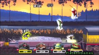 1 vs 3 Train Stage! Teenage Mutant Ninja Turtles: Smash Up - Shredder vs Max Level Bots - HD