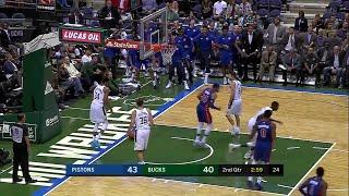 Quarter 2 One Box Video :Bucks Vs. Pistons, 10/12/2017