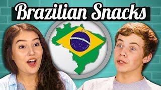TEENS vs. FOOD - BRAZILIAN SNACKS