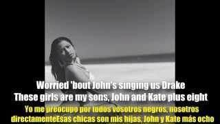 Nicki Minaj - Only ft  Drake, Lil Wayne, Chris Brown Lyrisc Subtitle Video English - Español