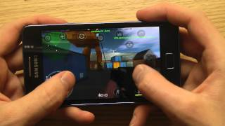 Counter-Strike 1.6 Galaxy S2 Plus Gameplay Review