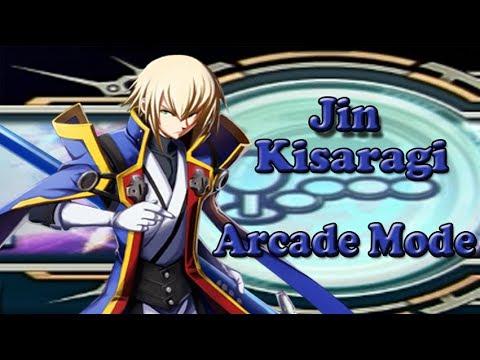 Blazblue Chrono Phantasma Jin Kisaragi Arcade Mode English