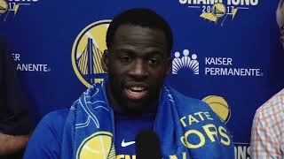"Draymond Green: ""I don"