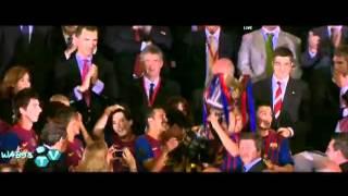 تتويج برشلونة بلقب كأس ملك اسبانيا 2012
