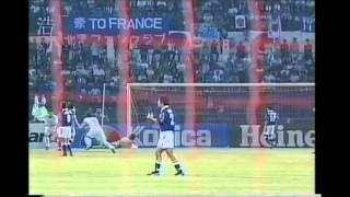 Japan 3 Iran 2 WCQ 1997 日本対イラン