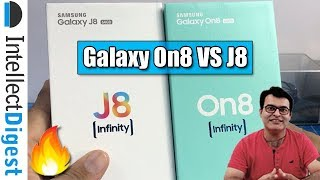 Samsung Galaxy On8 Unboxing And Comparison With Galaxy J8 2018 | Intellect Digest