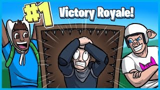 Trapping NOOBS for VICTORY ROYALES in Fortnite: Battle Royale! (Fortnite Funny Moments)