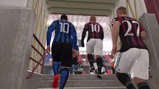 PES 2016 GAMEPLAY PS4  INTER MILAN VS A.C. MILAN  HD  LIVE BROADCAST CAMERA SETTING