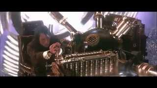 مشهد للانتقال للمستقبل من فيلم الخيال العلمي الة الزمن