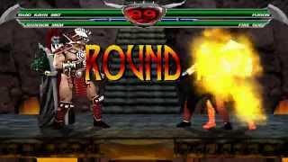 Mortal Kombat Chaotic - Shao Kahn and Shinnok playthrough