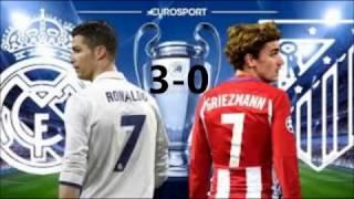 Real Madrid 3-0 Atlético Madrid Tous les buts Ligue Des Champions 2017