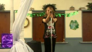 Jasmine Jones Talent show 2013
