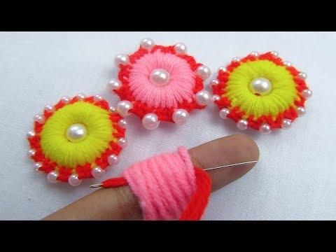 Xxx Mp4 Hand Embroidery Amazing Trick Easy Flower Embroidery Trick Sewing Hack Crafts Embroidery 3gp Sex