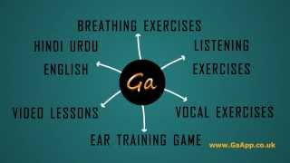 How To Sing - Bollywood Singing Lessons in Hindi/Urdu/English With Vocal Coaching iPhone/Android App