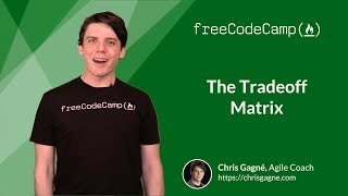 Tradeoff Matrix - Agile Software Development