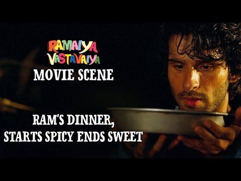 Xxx Mp4 Ram 39 S Dinner Starts Spicy Ends Sweet Ramaiya Vastavaiya Scene Girish Kumar Shruti Haasan 3gp Sex