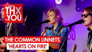 The Common Linnets - 'Hearts On Fire' (live bij Q-music) // 10 jaar Q