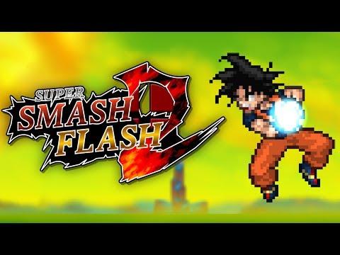 Super Smash Flash 2 - Goku (Classic Mode)