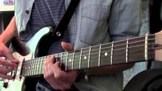 Radiohead - Nude on guitar