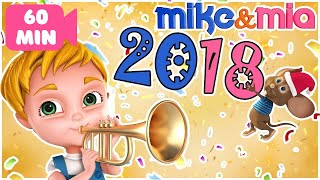 Happy New Year Songs For Kids 2018 | Happy New Year Songs For Children | Dancing Songs for Kids
