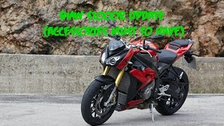 BMW S1000r 2016 Update (Accessories must to have)