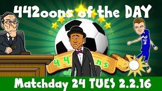 442oons of the Day Week 24 (Vardy wonder goal vs Liverpool, Neymar tax parody cartoon)