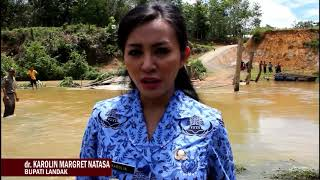 Sosok Pemimpin, Bupati Landak Karolin Margret Natasa Temui Langsung Rakyat Korban Banjir