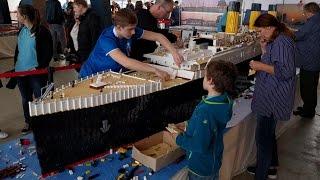 LEGO Titanic XXL in Hamburg: Floating Bricks 2017