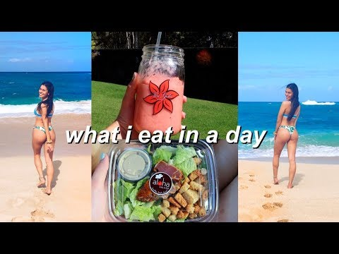 what i eat in a day // not vegan + healthy | Ava Jules