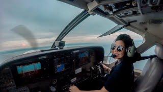 Lady Pilot Cristina Decena First Solo Flight Cessna 152 Philippines