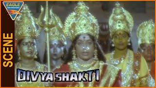Divya Shakti (Trinetram) Hindi Dubbed Movie    K.R.Vijaya Best Scene    Eagle Hindi Movies