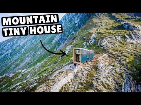 Our TINY HOME IN THE SWISS ALPS full tour