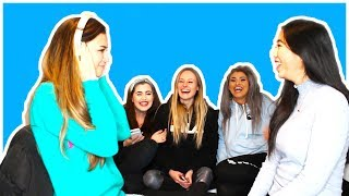 TALIA HAD A SHOWER WITH WHO!? // THE WHISPER CHALLENGE FEAT. GALZ