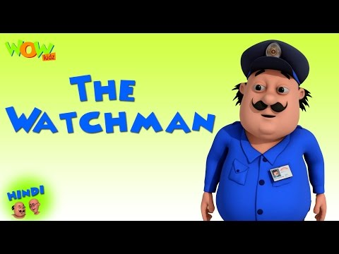 Xxx Mp4 The Watchman Motu Patlu In Hindi 3D Animation Cartoon For Kids As On Nickelodeon 3gp Sex