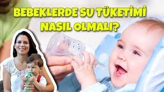 Bebeklerde Su Tüketimi Ne Kadar Olmalı?