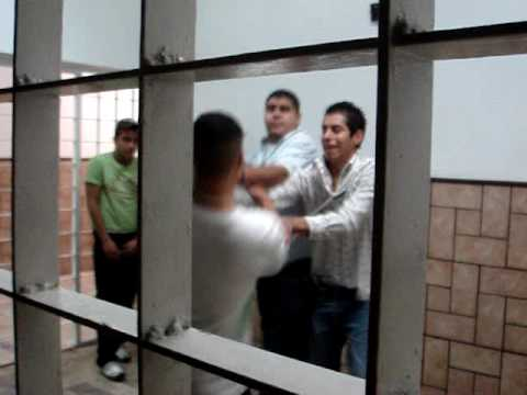 Fight on jail