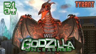 "Part 54 ""Story: Fire Rodan (Tyrant)"" - Godzilla: Unleashed [Wii]"