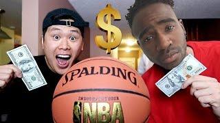 CRAZY $100 BASKETBALL GAME!!! *INSANE ENDING*
