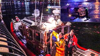 **Exclusive Search and Rescue Footage** East River Helicopter Crash - FDNY 10-60 2nd Alarm Box 8611