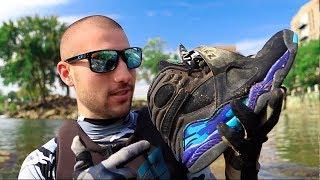 River Treasure: Found RETRO Jordans In River!!!!   Jiggin' With Jordan