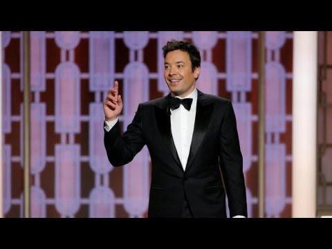 Golden Globes 2017 Host Jimmy Fallon gets off to a shaky start