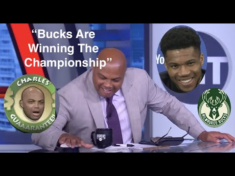 Charles Barkley Predicting The Bucks Championship CharlesWasRight