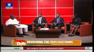 APC Member Insists Party Won Kosofe State Assembly Election 22/04/15 Part 2
