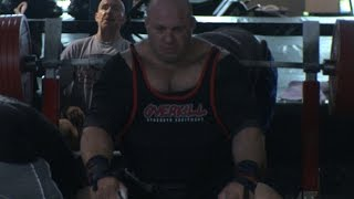 Scot Mendelson 1102 lb Bench Press Attempts - 2009
