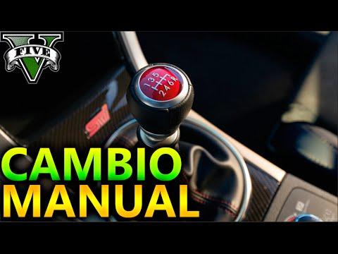 GTA 5 MOD CAMBIO MANUAL FUNCIONA 100%