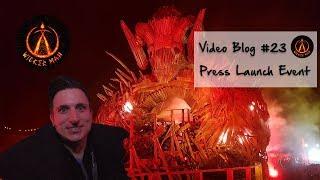 Video Blog #23  - The Wicker Man VIP Launch Vlog