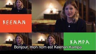 Keenan Kampa, danseuse et ambassadrice des 20 ans de la Fondation Jérôme Lejeune