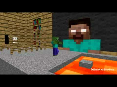 [Animation minecraft]Shcool Monster By Your_TextCasgameming